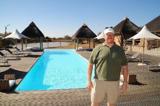Kapama River Lodge: spa pool and viewing area