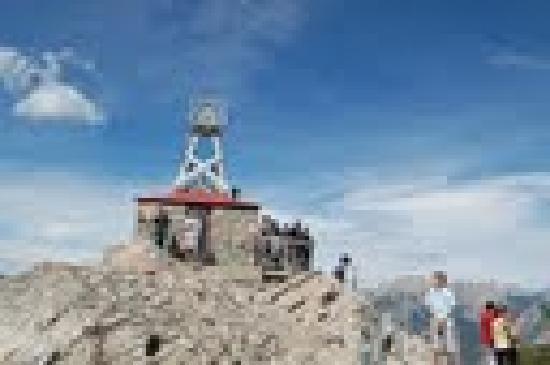 Banff Gondola: the weather station