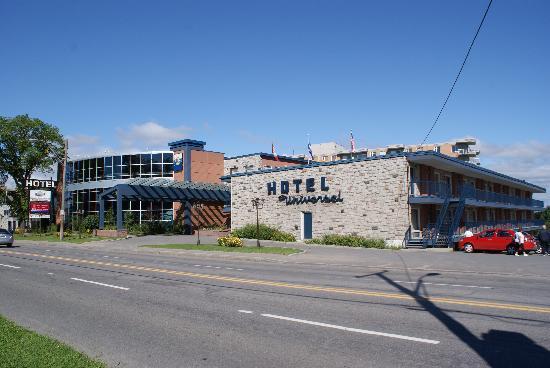 Hotel Universel Quebec: L'hôtel Universel...