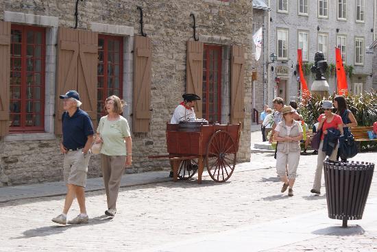 Old Quebec: La vieille ville...