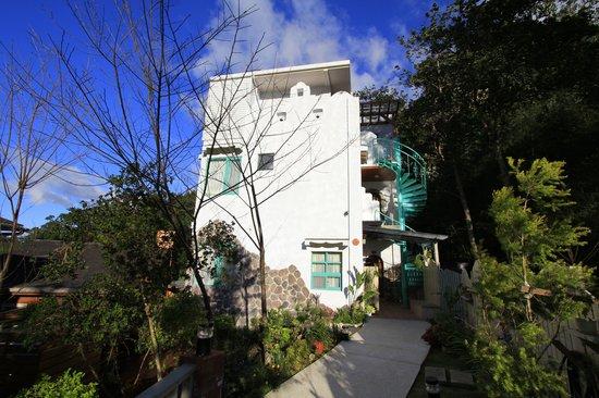Miaoli, Taiwan: the Mediterranean style building