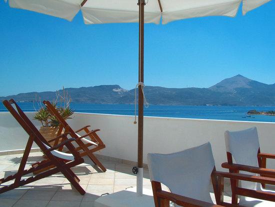 Villa Notos: Sea view veranda