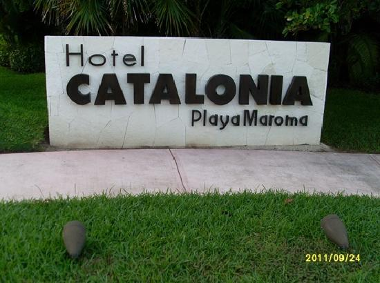 Catalonia Playa Maroma: Entrance