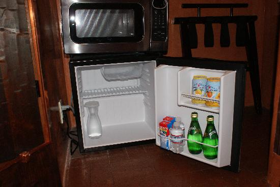 Antigua Inn: complimentary stocked fridge