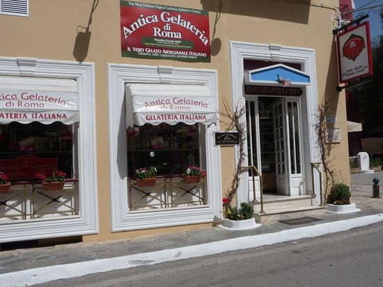 Photo of Restaurant Antica Gelateria di Roma at 3 Farmakopoulon, Nafplio 211 00, Greece