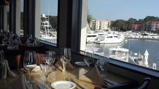 The Quarterdeck Waterfront Dining Harbor View