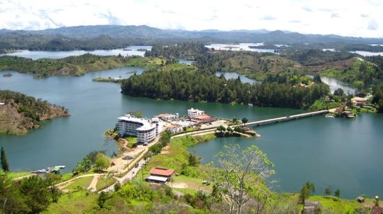 Guatape, Colombia: Panorámica