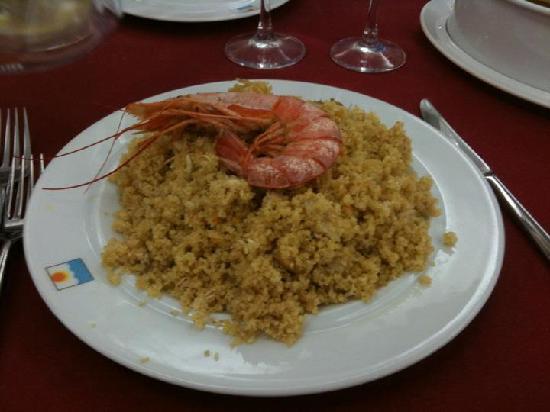 Hotel Sabbia d'Oro: CousCous di Pesce