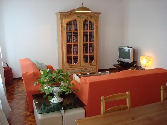 Cristina House : sala TV