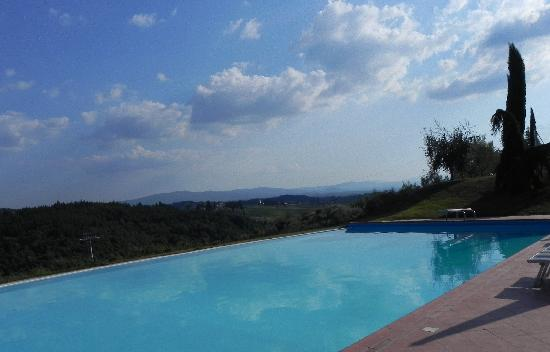 Quercia al Poggio: Inifinity Pool