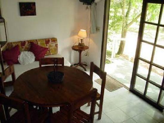 nos alojaron en una preciosa cabaña en refugio del solis, costa de oro, Uruguay