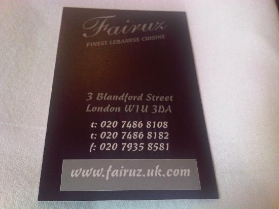 Fairuz: Sign