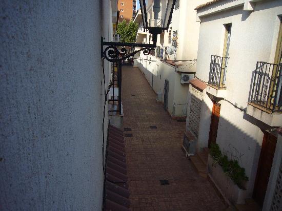 Rinconada Real: the 'street'