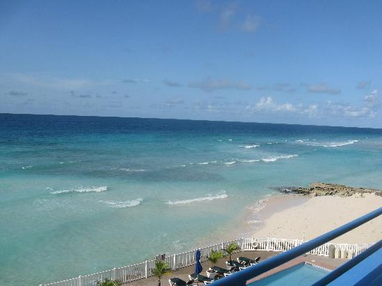 روسترفور هوتل: view from hotel room