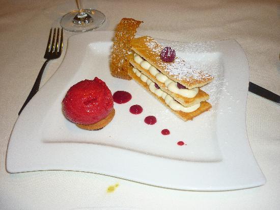 Hilton Sofia : Le dessert