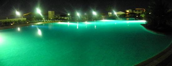TUI MAGIC LIFE Fuerteventura: the pool at night... HUGE!