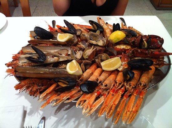 L'Ancora Restaurant : Mariscada