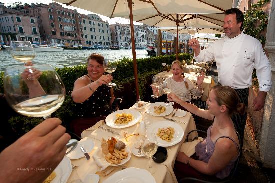 โรงแรมซากรีโด: A personalized dinner with the Chef Klostermeier!