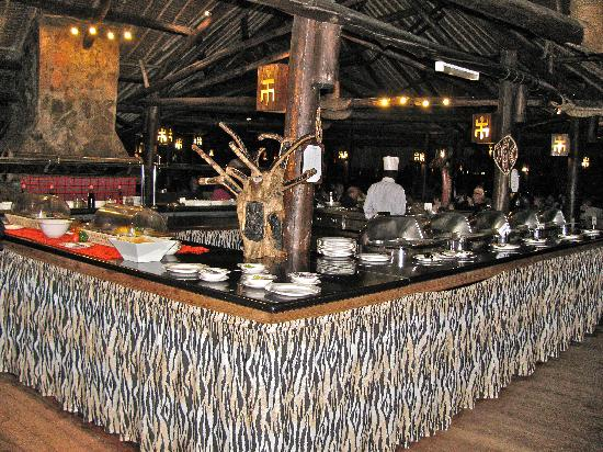 Mara Simba Lodge: Dining room