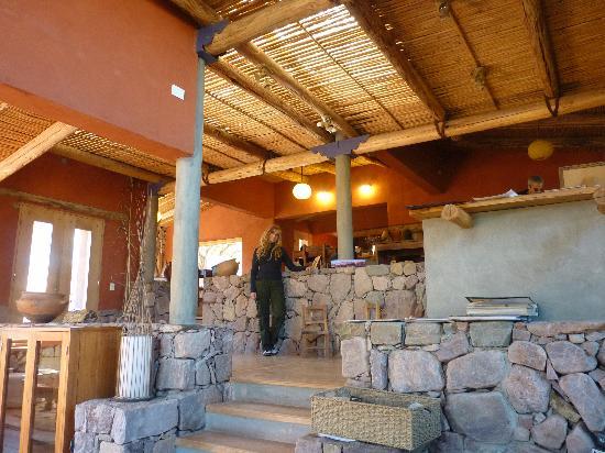 Cerro Chico: recepción y desayunador