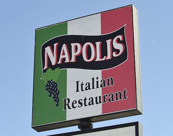 Napoli's Italian Restaurant: Napoli's 14th Street Sign