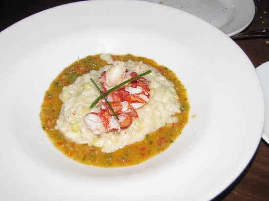 Bistro Vendome: Lobster risotto