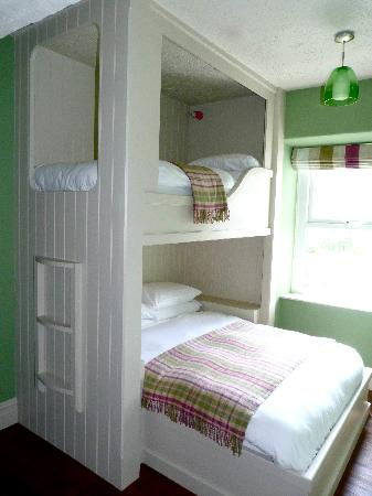The Rocks at Plas Curig Hostel : Double with bunk
