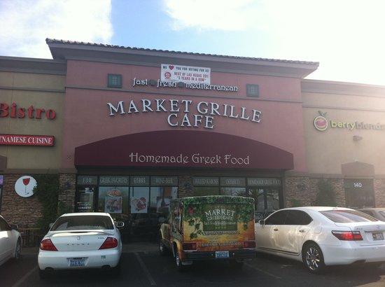 Market Grille Cafe: outside