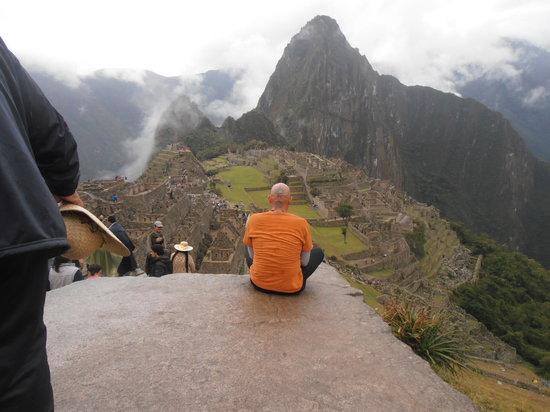 Maikhana: Much love from Machu Pichu!