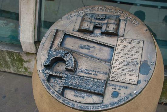 Eastgate Shopping Centre: Cool little plaque
