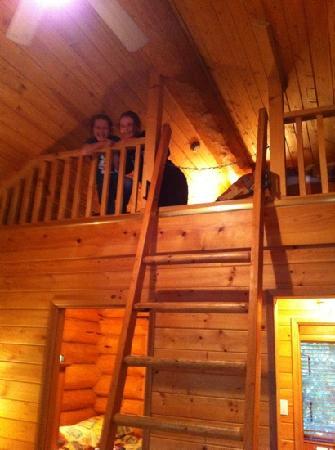 Interior yurt picture of riverside resort whistler for Cabine in whistler