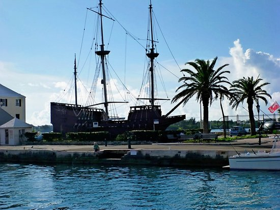 Ordnance Island : Ship replica
