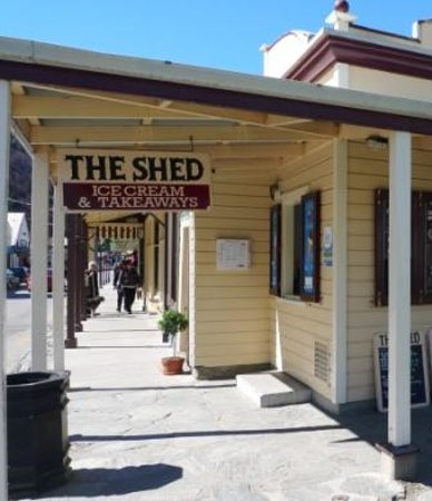 The Shed Ice Cream Parlour & Takeaway: Partial Photo