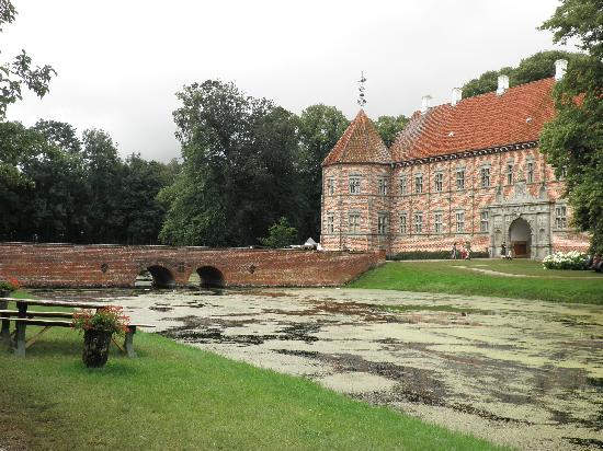 Denmark: voergard slot, jutlandia