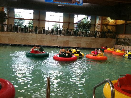 Wilderness Territory: Wild West: Bumper boats.