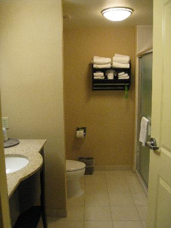 Hampton Inn & Suites Providence Downtown : bathroom