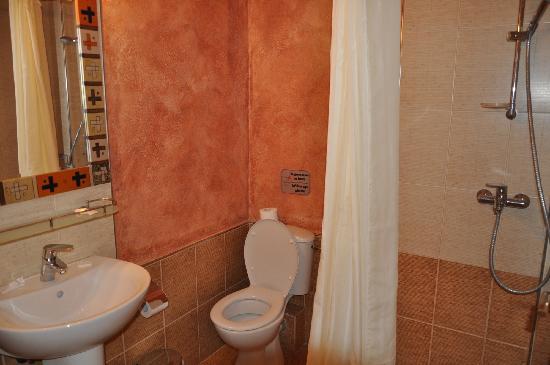 Antonia Hotel Santorini: Salle de bains