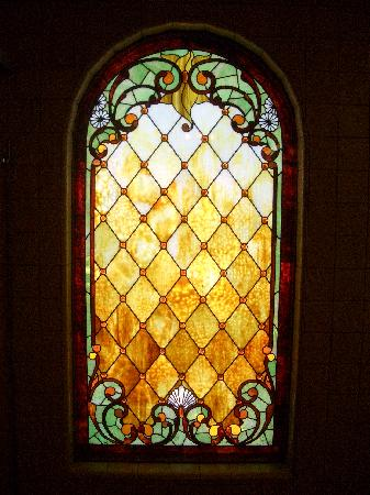 Stained Glass Window In Restroom Picture Of Winchester