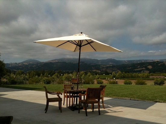 Healdsburg, Califórnia: the view from the patio