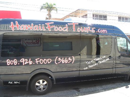 Hawaii Food Tours: Tour Van