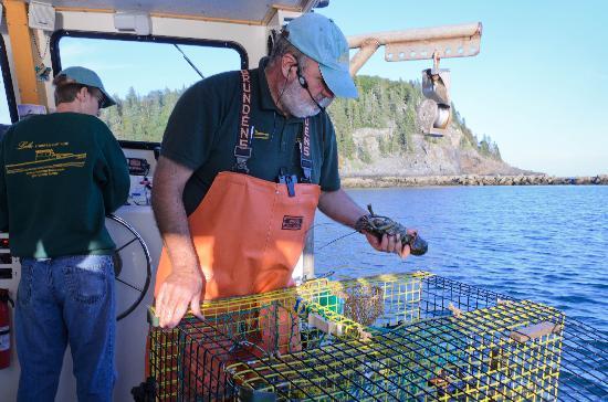 Lulu Lobster Boat: Captain John