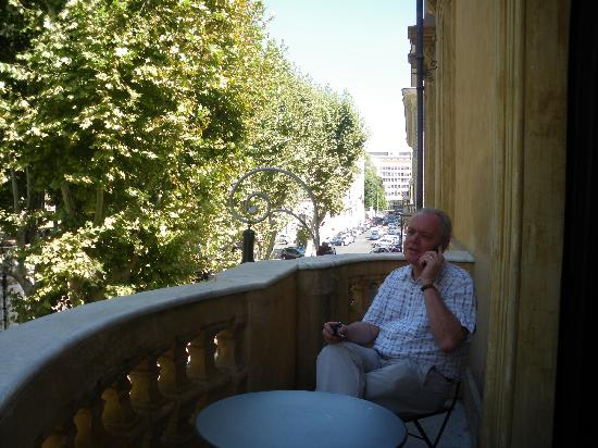 วิลลา สปาเล็ทติ ทริเวลลี: Balcony