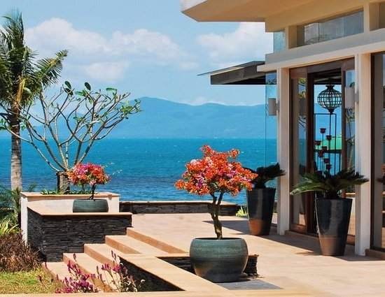 The Lotus Terraces: Lotus Beach Villa - Terrace