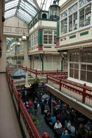 Castle Quarter Arcade: From the upper level