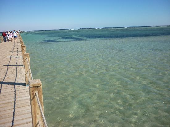 lti Tropicana Grand Azure: Le ponton
