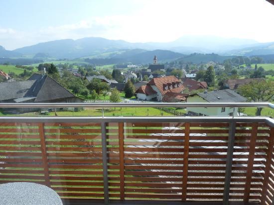 Vital Hotel Styria: Aussicht vom Balkon Richtung Süden