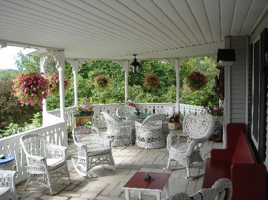 The House on the Hill: Front Porch