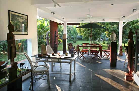 Diwo Gallery terrace