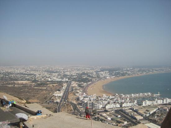 Agadir Kasbah: Vue depuis la Kasbah