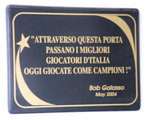 Nettuno, İtalya: un ricordo di un grande campione